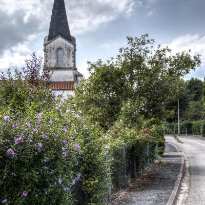 L'église de Haut-Mauco