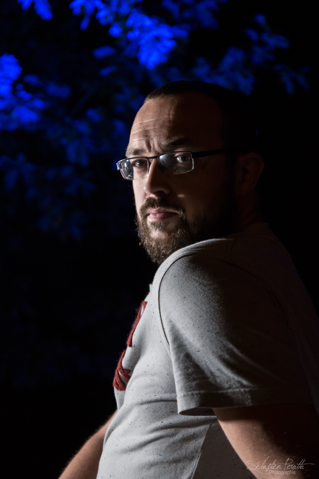 Julien on the night