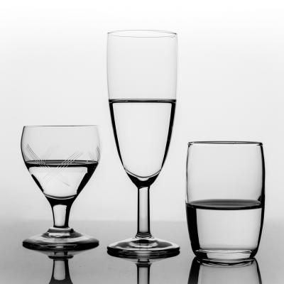 Trio of glasses