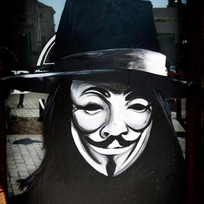 Anonymous à Limoges.