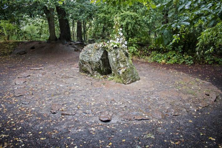 Tombeau Merlin, Brocéliande